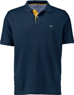 Herren Polo Shirt FYNCH HATTON Polo-Shirt marine