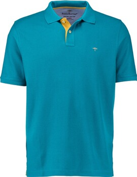 FYNCH HATTON Polo-Shirt aqua