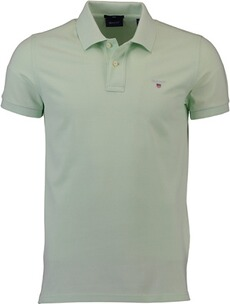 Herren Polo Shirt GANT Polo-Shirt The Original Piqué  hellgrün