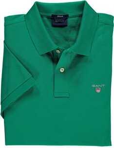 Herren Polo Shirt GANT Polo-Shirt The Original Piqué  dunkelgrün