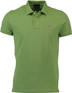 Herren Polo Shirt GANT Polo-Shirt The Original Piqué  grün