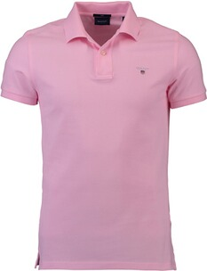 Herren Polo Shirt GANT Polo-Shirt The Original Piqué  rosa