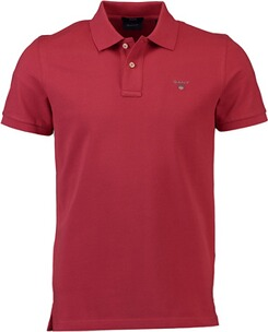 Herren Polo Shirt GANT Polo-Shirt The Original Piqué  rot