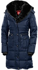 WELLENSTEYN Winter Jacke Opium midnightblue