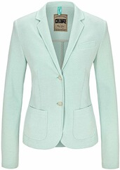 WHITE LABEL mint gemusterter Blazer