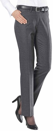 BRAX Feel Good Sofie Soft Flanell Hose grau