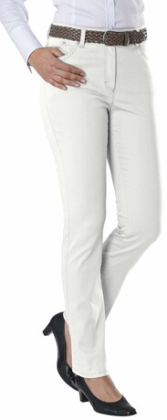 RAPHAELA BY BRAX Jeans Ina Five Pocket Super Slim weiss