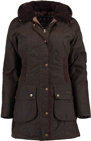 BARBOUR Wachsjacke Bower oliv