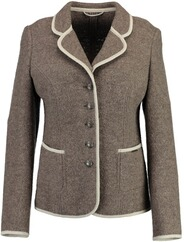 h-moser Damen Walkblazer in Taupe