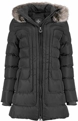 WELLENSTEYN Astoria Long Steppjacke schwarz