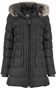 Wellensteyn Jacke Damen: WELLENSTEYN Astoria Long Steppjacke schwarz