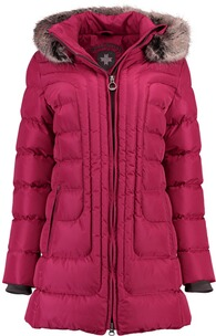 Wellensteyn Jacke Damen: WELLENSTEYN Astoria Long Steppjacke fuchsia