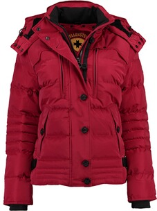 Wellensteyn Jacke Damen: WELLENSTEYN Winter Jacke Starstream(vorher Stardust)-Lady darkred
