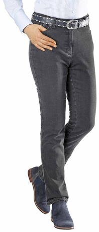 RAPHAELA BY BRAX Thermo-Jeans Ina anthrazit