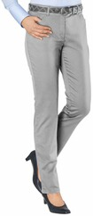 BRAX Carola Hose in Five-Pocket-Form grau