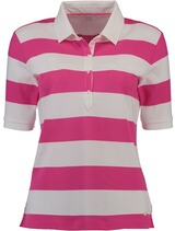 BRAX Polo-Shirt Cleo gestreift pink
