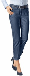 TONI Perfect Shape 7/8 Jeans darkblue