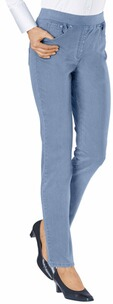 RAPHAELA BY BRAX Jeans Pamina hellblau Five Pocket