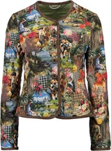 h.moser Steppjacke multicolour