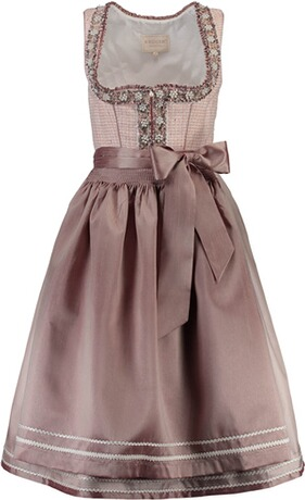 KRÜGER COLLECTION Dirndl rosa