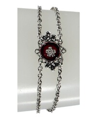 LUISE STEINER Armband rot