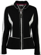 JUST WHITE Blazer schwarz