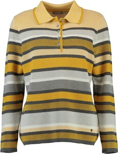 RABE Polo-Pullover gelb