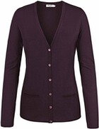MAERZ Strickjacke bordeaux