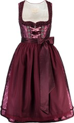 KRÜGER COLLECTION Dirndl bordeaux