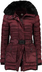 WELLENSTEYN Abendstern Short-Jacke grape red