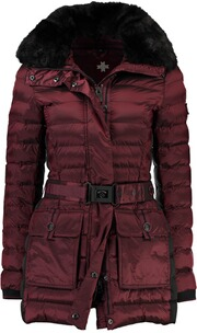 WELLENSTEYN Winter Jacke Abendstern Short grape red