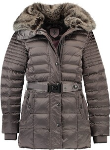 Wellensteyn Jacke Damen: WELLENSTEYN Winter Steppjacke Nachthimmel  metalrose