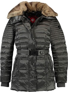 Wellensteyn Jacke Damen: WELLENSTEYN Winter Steppjacke Nachthimmel  titan