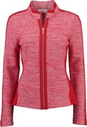 JUST WHITE Strickjacke rot