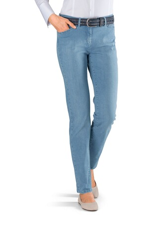 TONI Perfect Shape Jeans hellblau Five-Pocket