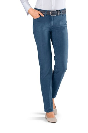 TONI Perfect Shape Jeans jeansblau Five-Pocket