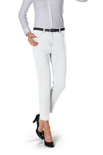 RAPHAELA BY BRAX 7/8 Hose Lesley weiss Five Pocket