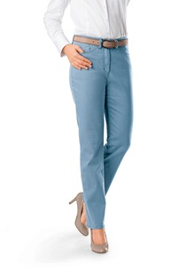 RAPHAELA BY BRAX Jeans Patti hellblau Five Pocket Super Slim