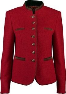 Trachtenjanker Damen: WHITE LABEL Walk-Janker rot