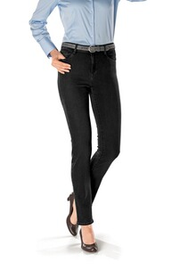 BRAX Jeans Mary schwarz Five-Pocket Slim Fit