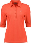 RABE Piqué Stretch Polo-Shirt pfirsich