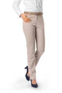 RAPHAELA BY BRAX Laura Baumwoll-Stretch Hose beige Five Pocket Slim Fit