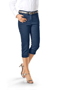 RAPHAELA BY BRAX Laura Capri Hose jeansblau Five Pocket