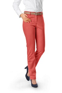 RAPHAELA BY BRAX Ina Baumwollsatin-Hose terra Five Pocket Super Slim