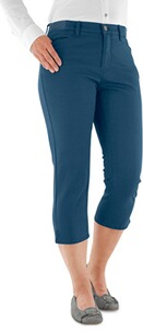 BRAX Capri Hose Mary jeansblau Slim Fit mit Stretch