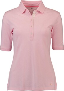 BRAX Polo-Shirt Cleo rose in Piqué Qualität