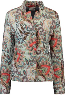 GIL BRET Paisley-Steppjacke orange