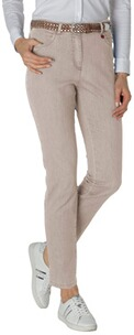 Relaxed by TONI Jeans Meine beste Freundin beige Five Pocket