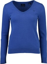 Gant Extrafine Lambswool V-Neck Pullover nautic blue