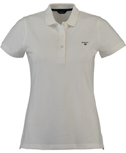 GANT Polo-Shirt The Summer Pique white